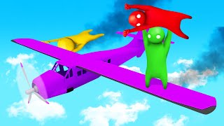 STAY On The PLANE Or LOSE! (Gang Beasts)