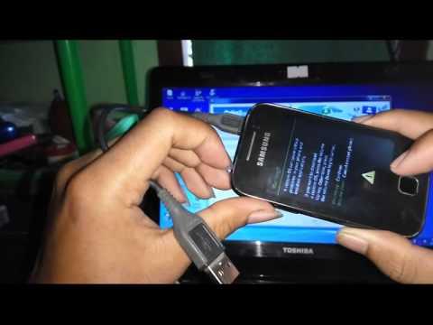 How to Flashing Samsung Galaxy Y GT-S5360 stuck on logo