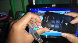 how to flashing samsung galaxy y gt s5360 stuck on logo