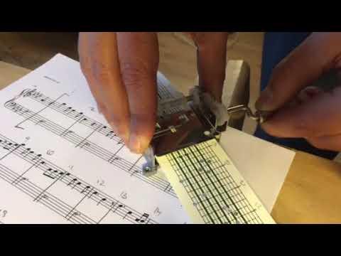 Perfect - Ed Sheeran (Chorus) 15 notes Music mechanism / Manivela 15 notas
