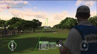 Tiger Woods PGA TOUR 12 actual gameplay
