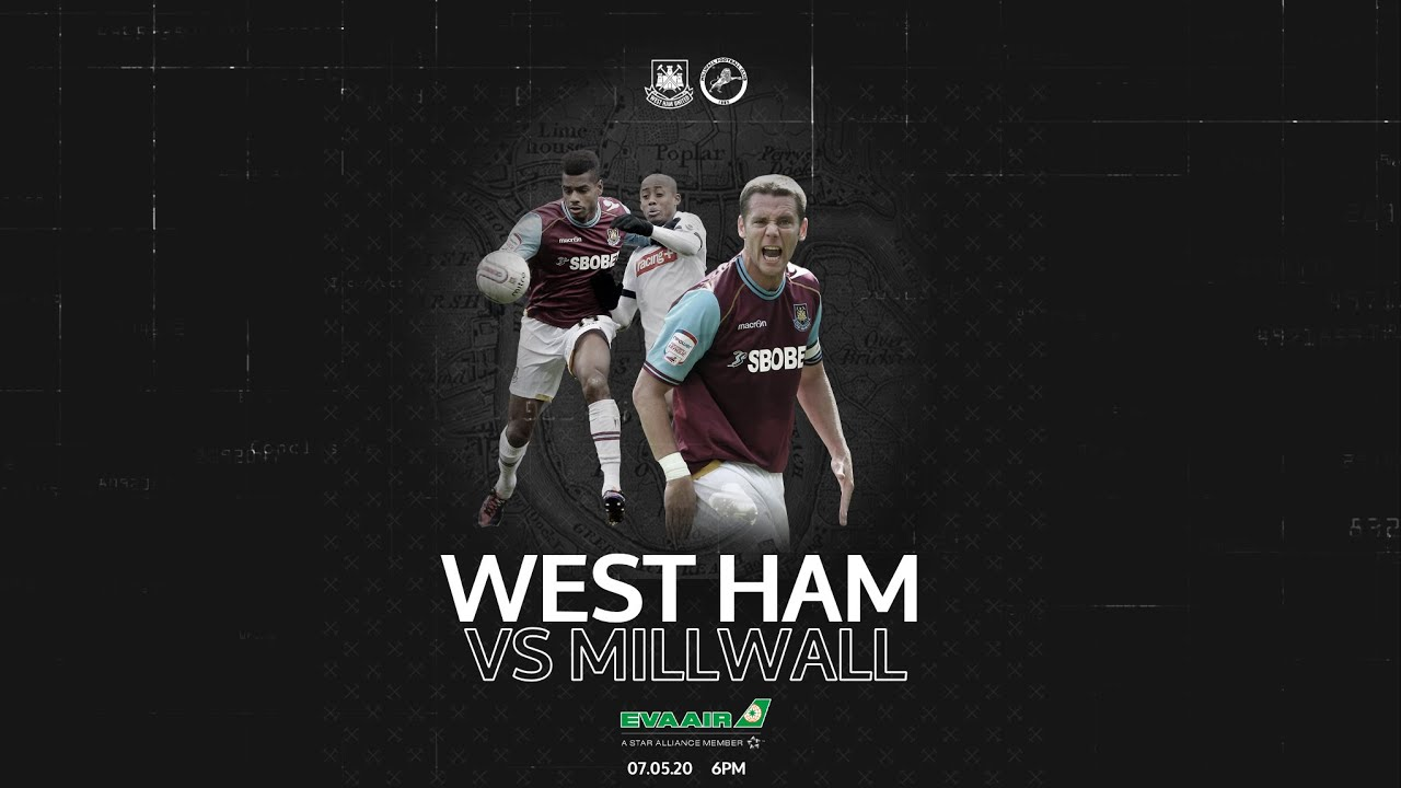 WATCH LIVE: WEST HAM UNITED VS MILLWALL  2011/12