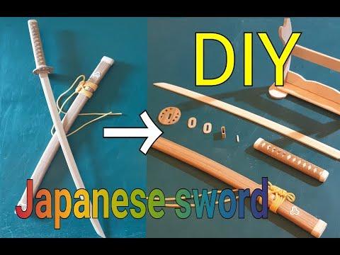 22#DIY the mini Detachable Katana