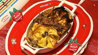 97 - Crepes farcite con ricotta, spinaci e salsiccia o saccottini del bocca...'sto Natale ti tocca!