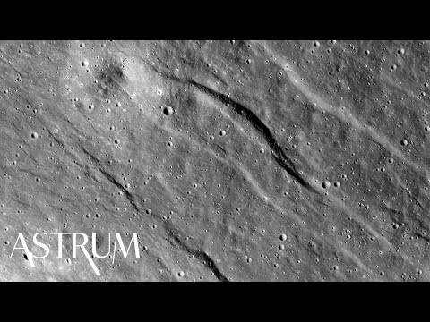 The Moon Is Shrinking Wrinkling Due To Quakes Study