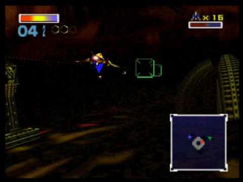 Star Fox 64/Lylat Wars - Venom 2 (Star Wolf Fight)