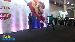 Concurso Cosplay das 15hs no sábado de Brasil Game Show 2018