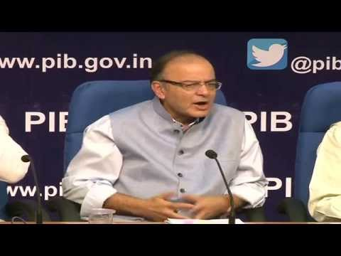 Press Conference by Shri Arun Jaitley on completion of one year of the Union Govt.
