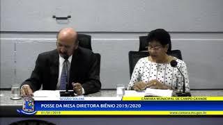 Câmara CG - Posse da Mesa Diretora Biênio 2019/2020