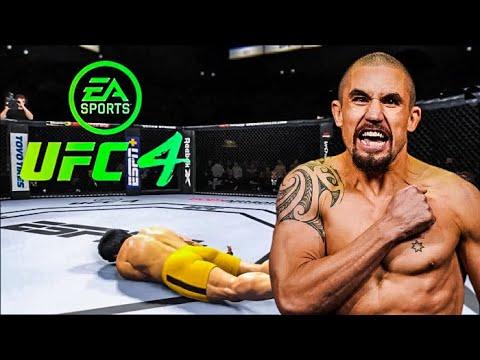 Download BRUCE LEE VS ROBERT WHITTAKER   UFC 4 BRUTAL FIGHT   UFC 4   UFC 4 2021   EA SPORTS UFC 4