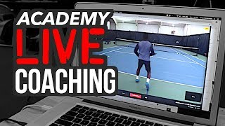 Academy LIVE coaching? (behind the scenes)