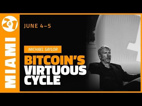 Download Bitcoin's Virtuous Cycle   Michael Saylor   Bitcoin 2021 Clips