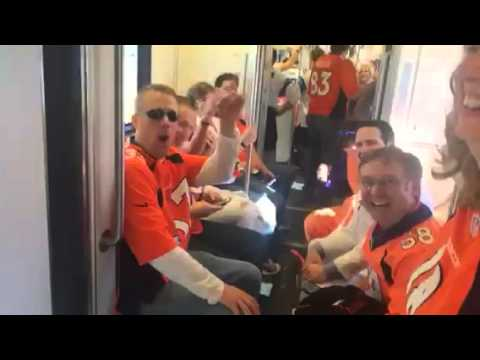 Video Of Broncos Fans Watching Themselves On YouTube #SB50