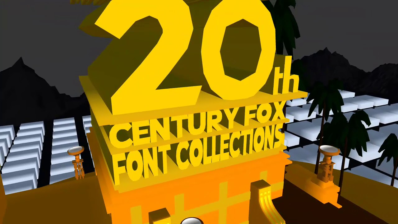 Mharvic Valdez's 20th Century Fox Font Collections