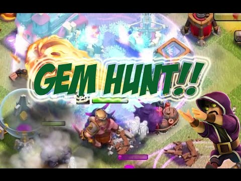 DECEMBER GEM HUNTING | Clash Of Clans |  Giveaway Announcement!