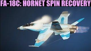 FA-18C Hornet: Spin Recovery Tutorial   DCS WORLD