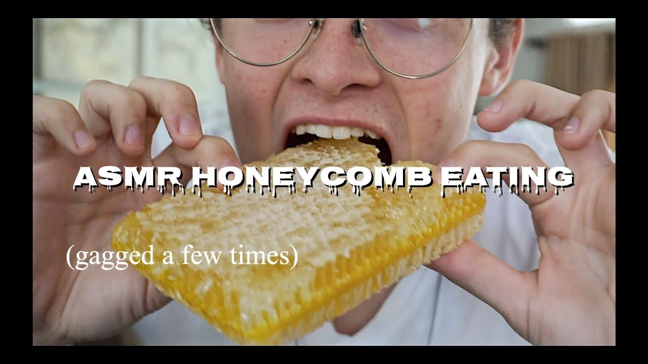 Asmr Honeycomb Eating With Talking