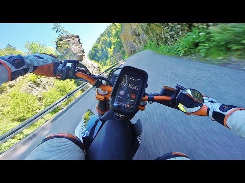 Supermoto on limit? // RAW 20 // KTM SMC R 690 // Sumo fighters // Wheelie // Race // Schwarzwald
