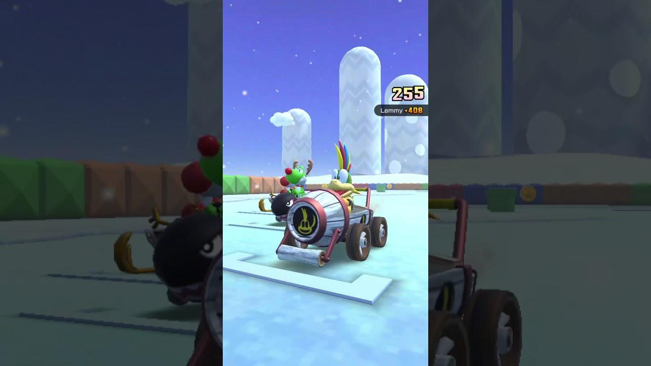 Mario Kart Tour [Ice Tour] : wario cup