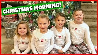 CHRISTMAS MORNING SPECIAL 2016 | OPENING PRESENTS | FAMILY FUN!