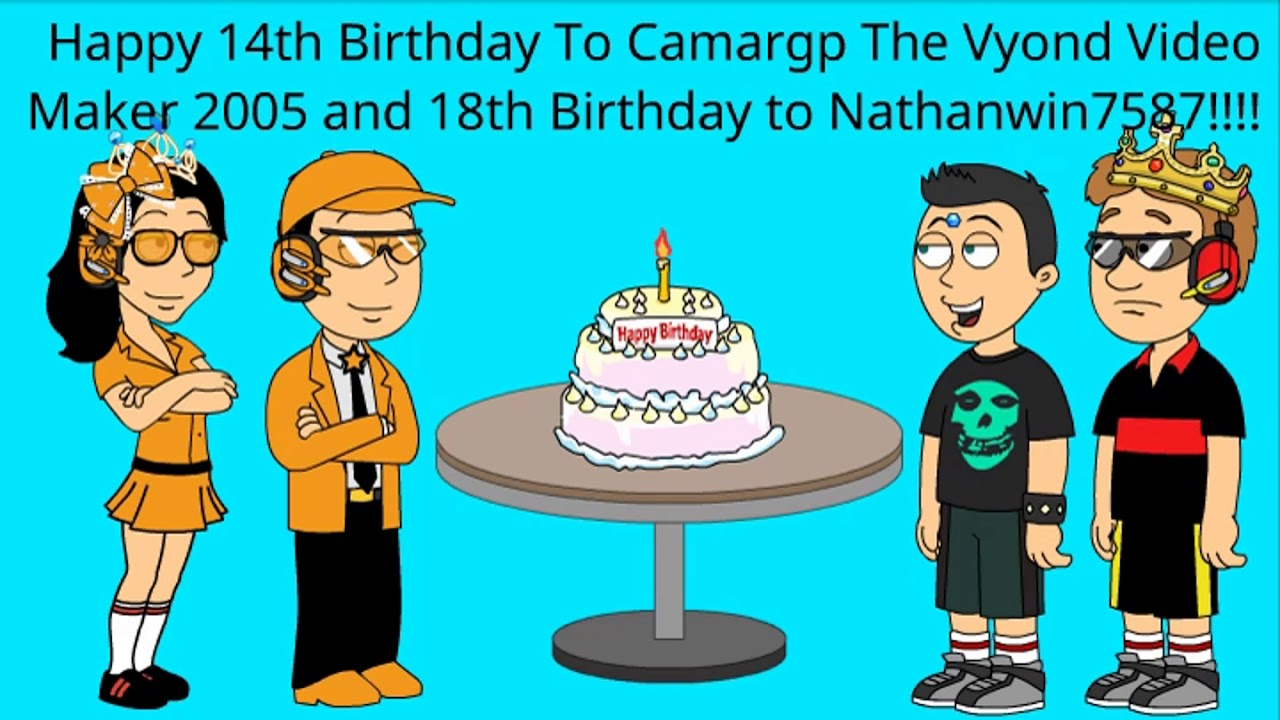 Happy Birthday To Victor Camargp The Vyond Video Maker 2005 And Nathanwin7587