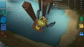 Roblox scuba diving (videonun bitişini yapamadım süre yetmedi ;D)