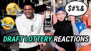 """I'd Trade My Pen*s For Zion."" Knicks Fans REACT To The 2019 NBA Draft Lottery! No ZION?? 😭"