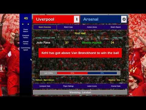 [CM 01/02] Managing Liverpool  - Season 05/06 - Part 1