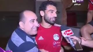"""سعد سمير لـ """" محمد صلاح """" شعورك ايه وانت مع توتي ودلوقتي قاعد مع عيال استغفر الله"""