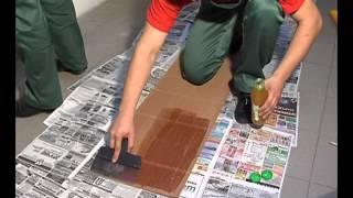 видео Как клеить бамбуковые обои