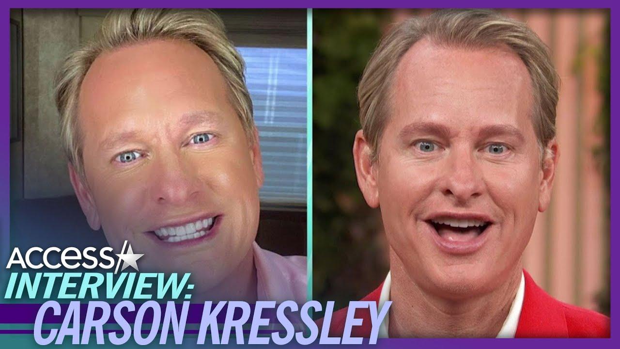 Carson Kressley Gets An Eyebrow Makeover