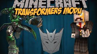 TRANSFORMERS MODU!! Minecraft Mod İncelemeleri (Jet,Tank,Araba) - Bölüm 8