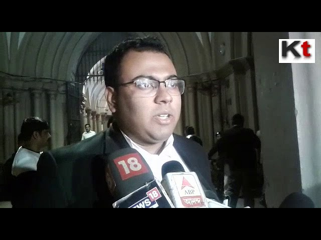 Trinamool Congress's lawyer presents his views in front of media on further appeal