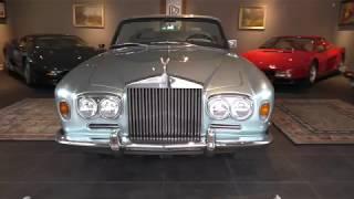 1969 Rolls-Royce Silver Shadow Convertible by Mulliner Park Ward walk around & start up