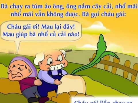 Nhổ củ cải  - Creat by Đinh Nhung