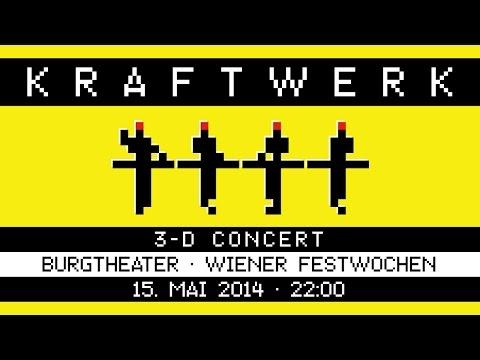 Kraftwerk - Burgtheater, Wiener Festwochen, Vienna, 2014-05-15 [Late Show]