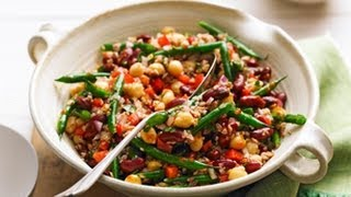 Bean & Bulgur Salad