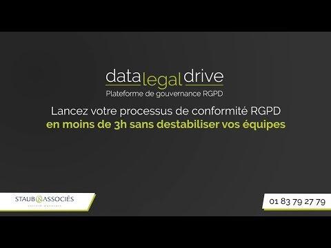 datalegaldrive.com - Solution digitale de mise en conformité RGPD