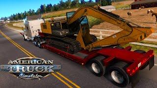 American Truck Simulator - Excavator | Stockton to Carson City | Gameplay #12