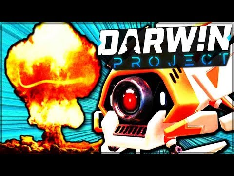 NUKING THE MORTALS AS THE ALL POWERFUL DIRECTOR - Darwin Project! (Best Battle Royale Game)