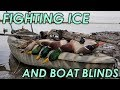 Fighting Ice and Boat Blinds | Public Land Kayak Duck Hunting 2018