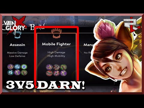 Going The Recommended Weapon Power Build For Koshka! Vainglory 5v5