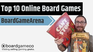 Top 10 Free Board Games To Play Online - Boardgamearena