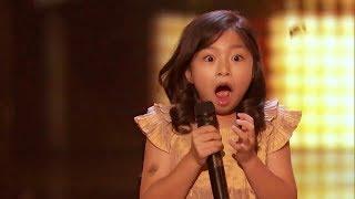 【美國達人秀】9歲的香港小妹妹再次上台! 評判按了黃金按鈕!!! (中文字幕) thumbnail