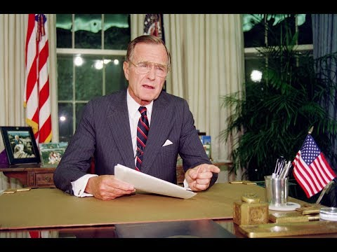 Remembering George H.W. Bush, 41st president