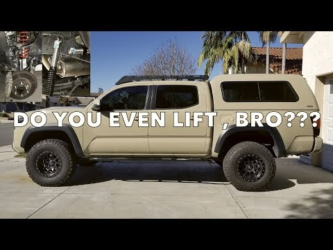 I DID IT! Toyota Tacoma Trd Pro Bilstein suspension and AAL Add A Leaf install vlog