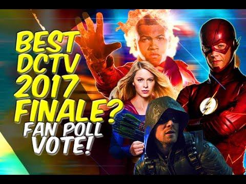 Best CW DCTV Finale Is? Arrow? Flash? Supergirl? Legends? - FAN POLL VOTE! FAN BATTLES!
