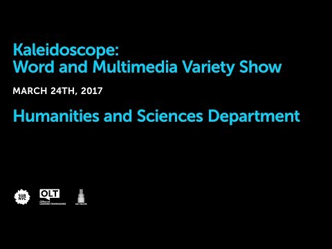 Kaleidoscope: Word and Multimedia Variety Show