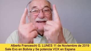 📺 Alberto Franceschi 🔴En Vivo en redes sociales 11/11/2019