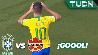 ¡Doblete de Peglow! | Brasil 3 - 0 Canadá | Mundial Brasil Sub-17 - J 1 | TUDN